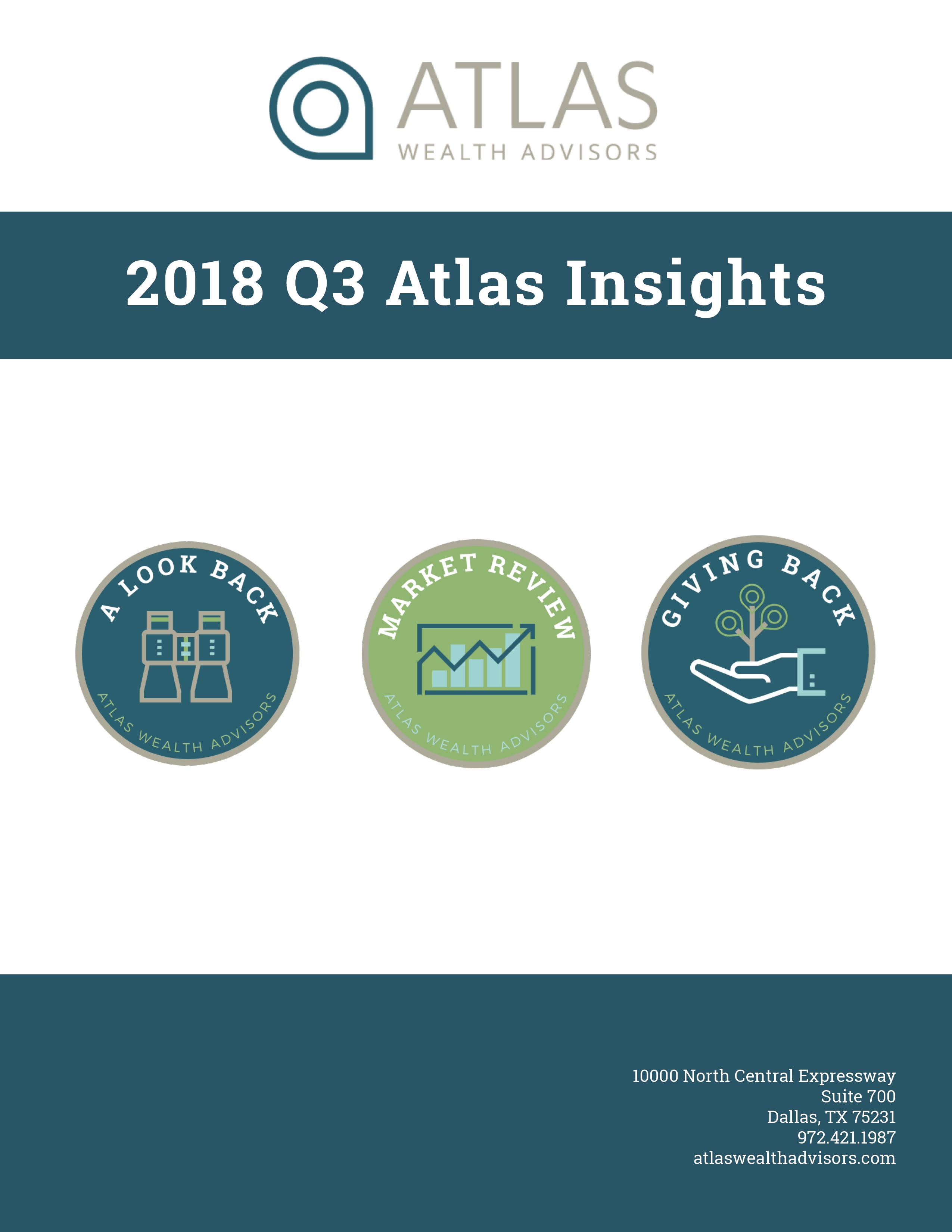Atlas 2018 Q3 Newsletter